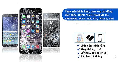 Thay linh kiện smartphone - thay mặt kính giá rẻ