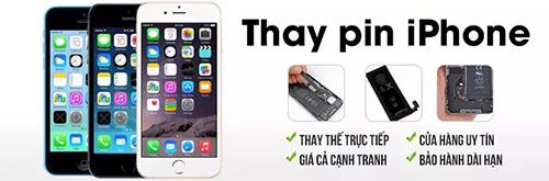 Dịch vụ thay pin iPhone chính hãng, uy tín và giá rẻ