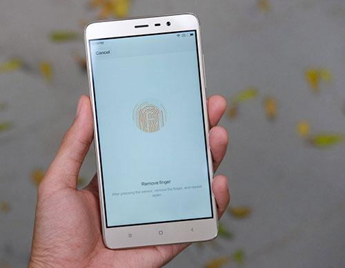 Khắc phục Redmi Note 3 không nhận vân tay bằng cách nào?
