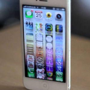 Màn hình iphone 5 bị bóng mờ có sửa được không?