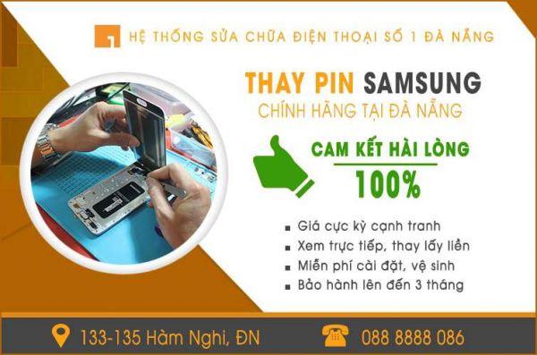 Thay pin Samsung tại Đà Nẵng giá rẻ