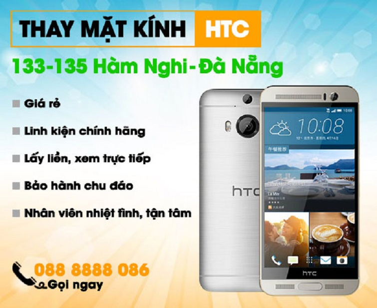Thay mặt kính HTC U11+
